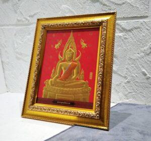 ภาพพระพุทธชินราชจำลอง